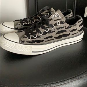 """Converse """"Mustache"""" All Star Sneakers"""